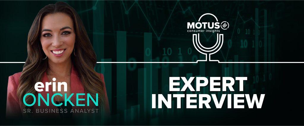 "Blog header image depicting Erin Oncken's headshot and the title ""Expert Interview""."